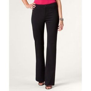 Coldwater Creek Ponte Flare Trouser Pant NWT 14